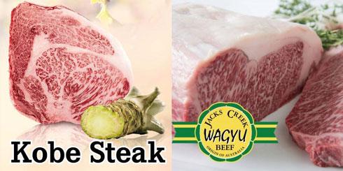 Wagyu Steak und Kobe Fleisch
